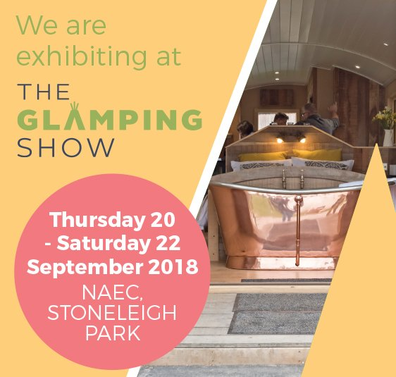 Davies and Co will be exhibiting at The Glamping Show, 20th - 22nd September 2018